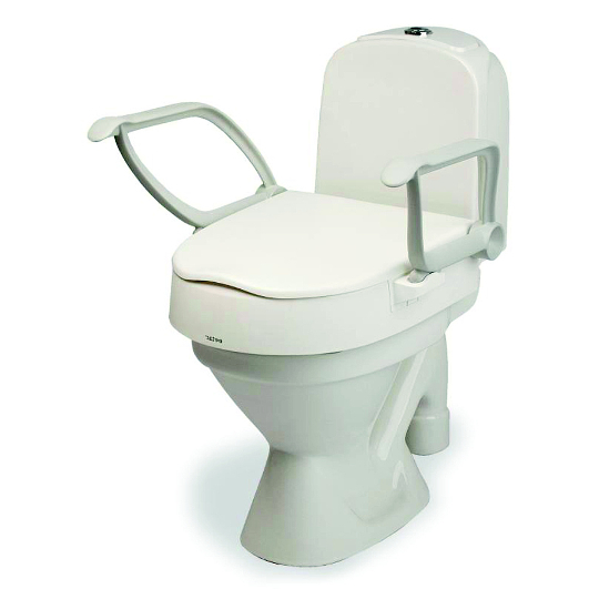 Etac CLOO Toaletní nástavec s madly