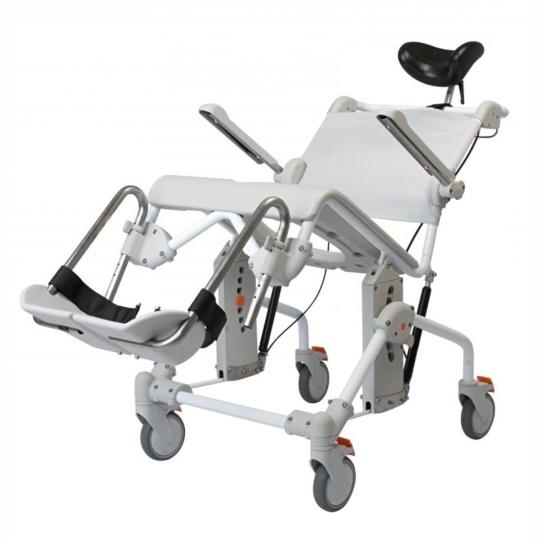 Etac Swift Mobil Tilt Toaletní a sprchové křeslo