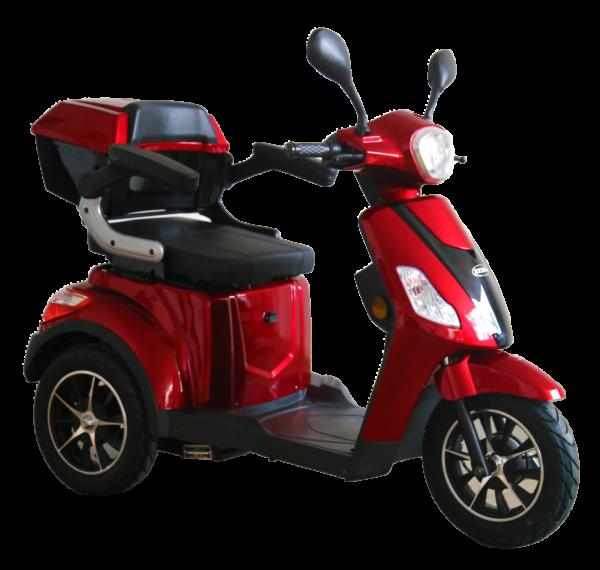Selvo 3500 EB – tříkolový elektrický vozík s elektromagnetickou brzdou
