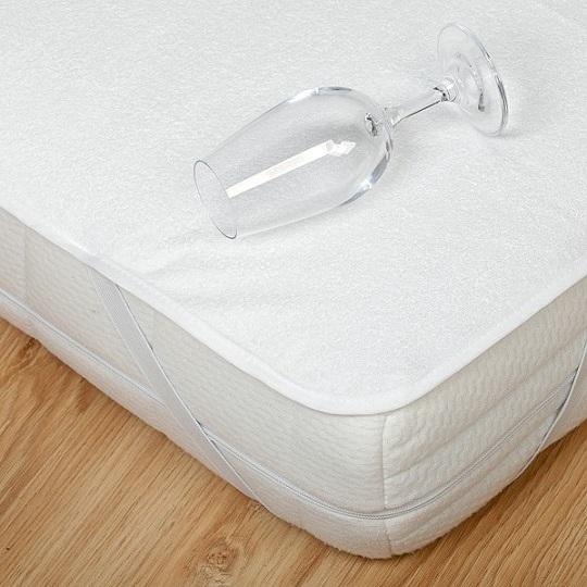 Matracový chránič s PU zátěrem 80 % bavlna 90 x 200 cm