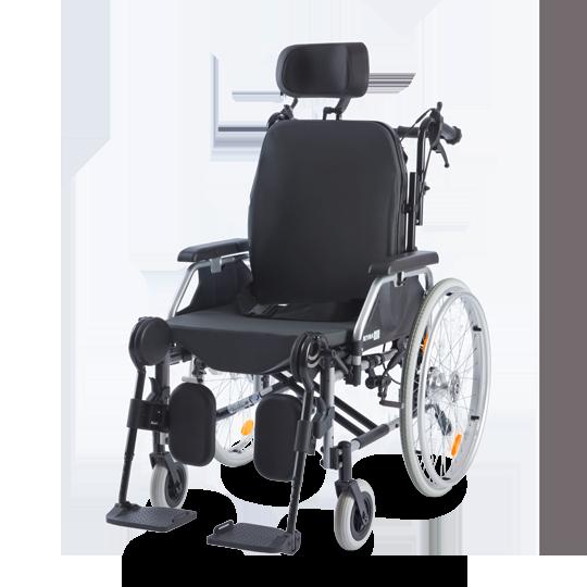 Eurochair 2 Polaro 2.845 Polohovací invalidní vozík