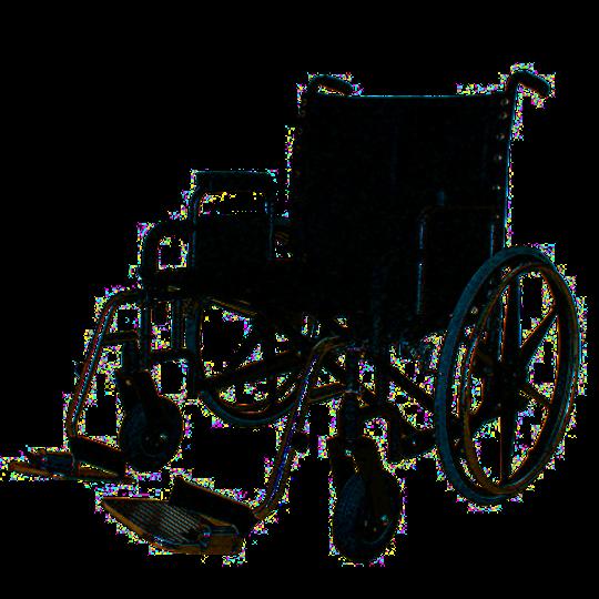 REHAB 4200 XXXL Invalidní vozík s nosností do 295 kg