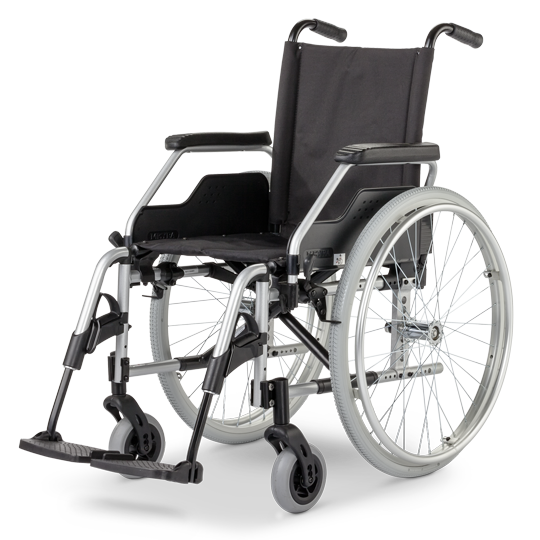 Eurochar Vario 1.750 odlehčený invalidní vozík