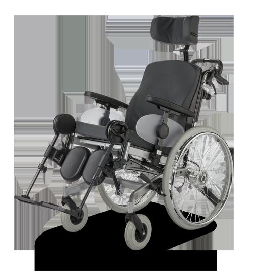 Solero Light 9.072 Polohovací invalidní vozík